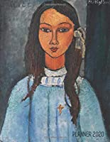 Amedeo Modigliani Planner 2020: Alice Painting Organizer | Calendar Year January - December 2020 (12 Months) | Artistic Cubism Art Painting of Native Indian Woman | Large Monthly Weekly Daily Agenda Scheduler | For Meetings, Appointments, Goals, or School (Weekly Art Planners 2020)