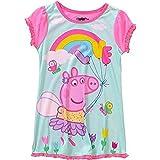 Peppa Pig Girl 'sサイズ3t Rainbow LoveポリエステルNightgown、。ガウン