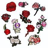 (デイリー スウィート)Daily Sweet バッジ ワッペン 刺繍デコシール お祝い 入園 入学 花 11枚セット