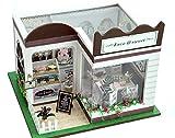 STARDUST LEDライト付属 西洋風 ドールハウス ケーキショップ カフェ 組み立てキット 照明 点灯 人形 おもちゃ ホビー SD-TD5-Z