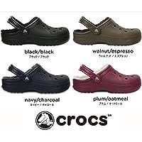 CROCS クロックス Winter clog ボア付き レディース メンズ サイズ23.0cm カラー:black/black