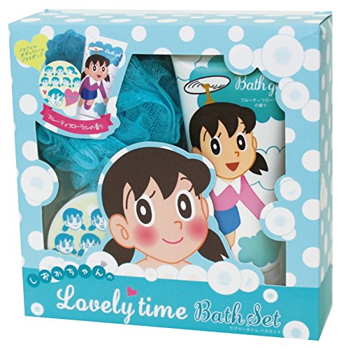 ドラえもん 入浴剤 ギフトセット しずかちゃんのラブリータイムバスセット フルーティフローラル の香り OB-SZK-1-2