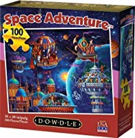 Dowdle Jigsaw Puzzle - Space Adventure - 100 Piece
