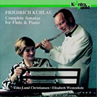 Kuhlau: Complete Sonatas For Flute And Piano, disc 1/3