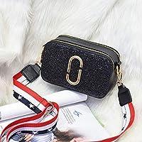 SMART新 2019 エレガントなショルダーバッグの女性デザイナーの高級ハンドバッグ女性のバッグステッチカラーメッセンジャークロスボディバッグ女性のための財布