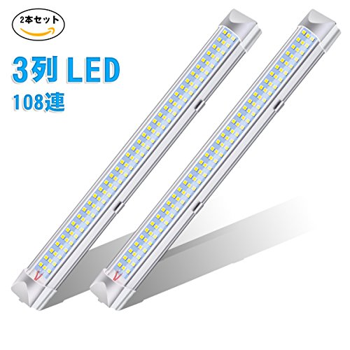 AMBOTHER 直管形 108連 ルームライト 車 led...