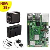 Raspberry Pi 3 本体+5V/2.5A USB電源アダプター+ケース+スイッチ付きケーブル+ヒートシンク 5点セット Raspberry Pi 3 Model B