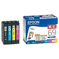 エプソン純正 インクカートリッジ IC4CL69 4色パック 1セット