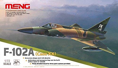 モンモデル 1/72米空軍超音速迎撃機 F-102 デルタダガー Case XX
