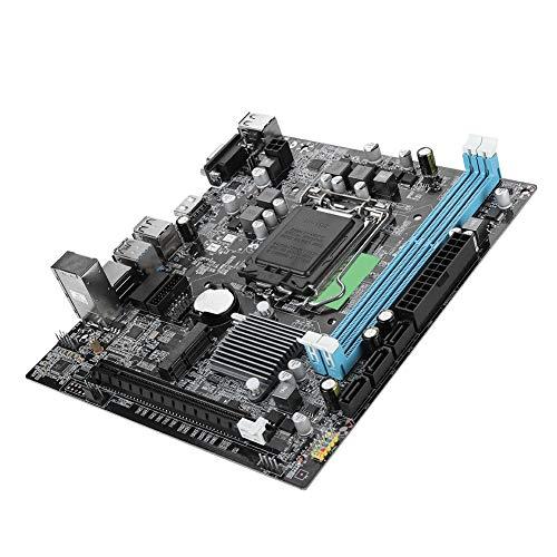 LGA 1151マザーボード DDR3 USB3.0 M-SATAインターフェース コンピュータメインボード 6チャンネル 内蔵RTL8105Eネットワークカード 高速伝送 交換用マザーボード 代替用マザーボード