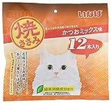いなば 猫用おやつ 焼ささみ かつおミックス味 12本入