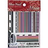 写ネイル ネイルシール Sha-Nailmore Jersey Lines (boy) MJL-001