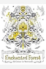 Enchanted Forest: 12 Colour-in Notecards Paperback