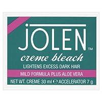 Jolen Creme Bleach Mild Formula Plus Aloe Vera 30ml & Accelerator 7g by Jolen