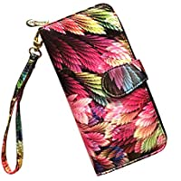 LOVESHE Women's New Design Bohemian Style Purse Clutch Bag Card Holder New Fashion (17JJ38)