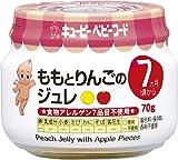 キユーピーベビーフード ももとりんごのジュレ 70g 【7ヵ月頃から】