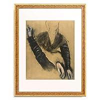 エドガー・ドガ Edgar Degas 「Etude pour Madame Camus au piano」 額装アート作品