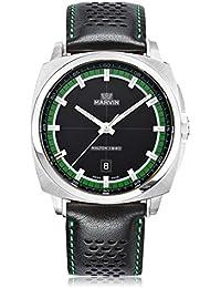 38f08fa149 ... メンズ 腕時計 · ¥ 75,600 · スイス製 Marvin 石英ムーブメント ステンレスケース 緑と ...