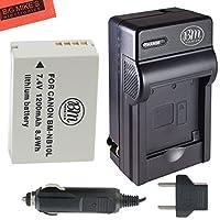 Bm Premium Nb - 10lバッテリーと充電器キットCanon PowerShot sx40sx50HS sx60HS g15g16g1Xデジタルカメラ