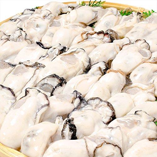 築地の王様 牡蠣 生牡蠣 1kg Lサイズ 解凍後850g 生食用 冷凍むき身牡蠣 新製法で冷凍なのに生食可能
