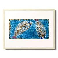 パウル・クレー Paul Klee 「Blue-eyed fish. 1938.」 額装アート作品