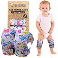 Baby Knee Pads for Crawling (2 Pairs)   Protector for Toddler, Infant, Girl, Boy