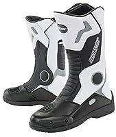Joe Rocket Men's Ballistic Tour Boot (White/Black, 13) [並行輸入品]