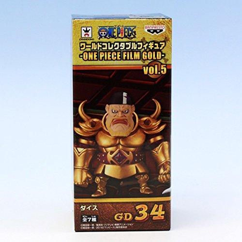 ダイス (ワンピース ワールドコレクタブルフィギュア ONE PIECE FILM GOLD vol.5 アニメ プライズ バンプレスト)