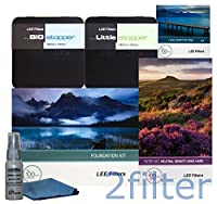 LeeフィルタOceanscape ProキットIncludes Lee Foundationキット、77mm幅角度リング、Lee 4x 6GRAD NDハードエッジセット、4x 4big stopper and 4x 4Littleストッパーwith 2フィルタクリーニングキット