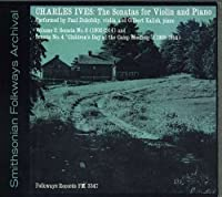 Charles Ives: Sonatas for Violin and Piano Vol. 2 by Zukofsky (2012-05-30)