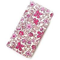 iPhone6s Plusケース iPhone7 Plus ケース iPhone8 Plusリバティ メドゥ (ピンク)ワントーンシリーズ SHOKO MIYAMOTO おしゃれ かわいい マグネット無しでカード安全 スマホケース アイフォンケース Liberty