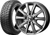 (2017年製)スタッドレスタイヤ・ホイール 1本セット 15インチ GOODYEAR(グッドイヤー) ICE NAVI(アイスナビ)6 175/65R15 84Q + ZMA