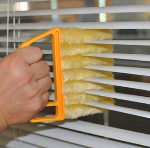 [해외]수직 창문 블라인드 청소기 블라인드 브러쉬 휴대용 청소 창문~ 에어컨 틈새 청소 세척 가능 청소용 브러시/Vertical Window Blind Cleaner Blind Brush Handheld Cleaning Window~ Air Conditioner Clean Cleaning Cleanable Cleaning Brush