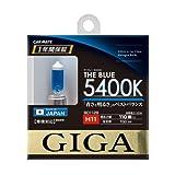 カーメイト 車用 ハロゲン GIGA ザ・ブルー H11 5400K BD1128