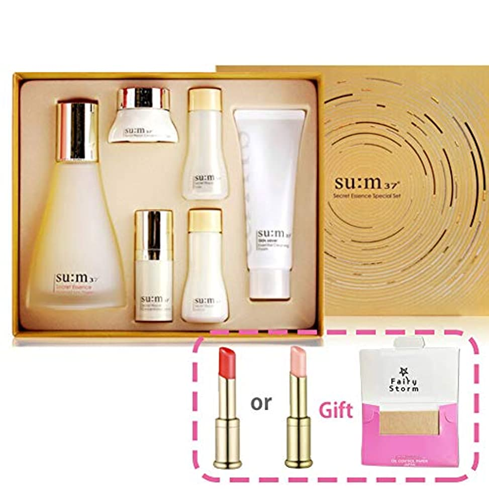 シロクママントモール[su:m37/スム37°] SUM37 Secret Essence SPECIAL 100ml Limited Edition/シークレットエッセンススペシャルリミテッドエディション+[Sample Gift](海外直送品)