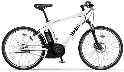 YAMAHA(ヤマハ) 電動アシスト自転車 2017年モデル PAS ブレイス 26インチ[高容量15.4Ahバッテリー,液晶5ファンクションメーター搭載] PA26AGBR7J クリスタルホワイト