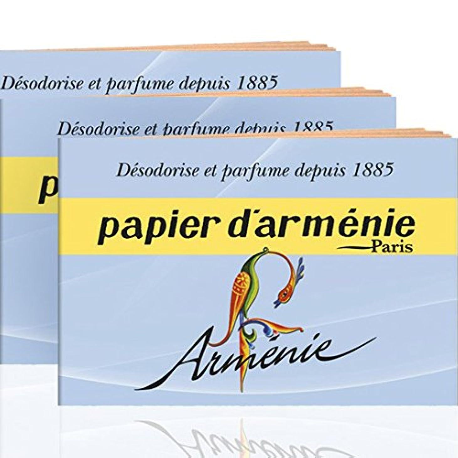 眠り提供されたトランスペアレントAnnee Armenie Burning?ペーパー3 x 12シートby Papier D 'armenie
