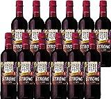 【国産ワイン売上NO.1】サントリー 酸化防止剤無添加のおいしいワイン。 ストロング赤 720ml×12本 [ 赤ワイン ミディアムボディ 日本 ]