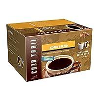 Caza Trail Coffee Kona Blend k-cup カザトレイルコーヒーコナブレンドkカップ 100杯分 [並行輸入品]