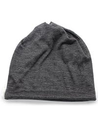 (ザクション) Zaction 日本製 ターバン ネックウォーマー メンズ レディース ウールガーゼ3way渦巻き ニット帽