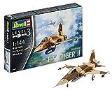 ドイツレベル 1/144 F-5E 戦闘機 タイガー プラモデル 03947
