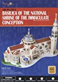 Basilica of the National Shrine of the Immaculate Conception 3-D Puzzle (PT222)