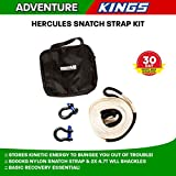 Hercules Snatch Strap Kit 4WD Recovery Snatch Strap 4.7T Bow Shackle Canvas Bag