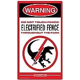 [ファクトリーエンターテイメント]Factory Entertainment Jurassic World Raptor Fence Medium Metal Sign 408881 [並行輸入品]