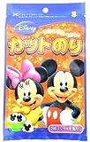 ディズニー ミッキー カットのり 全形1枚分 ×3袋