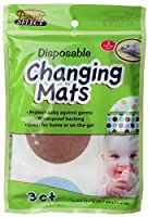 Disposable Changing Mats Bulk Case of 24 by Parents Select
