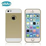 ahha 日本正規品 iPhoneSE / 5s / 5 Classic Case GORMAN, Champagne Gold 【装着していることを感じさせない】 クラシック ケース ゴーマン, シャンパン・ゴールド (液晶保護シートつき) A-CCIH5-0GC2
