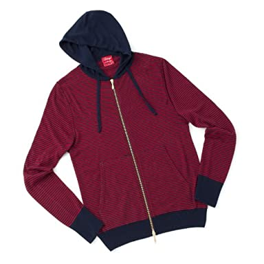 Full Zip Parka: Red