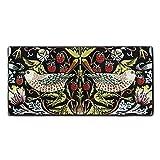 (OnlinyShop) ウィリアム・モリスの鳥および花デザイン タオル 吸水 速乾 抜群の肌触り 極細繊維 家庭用フェイスタオル バスタオル 洗車用お風呂 ギフト 30×70cm