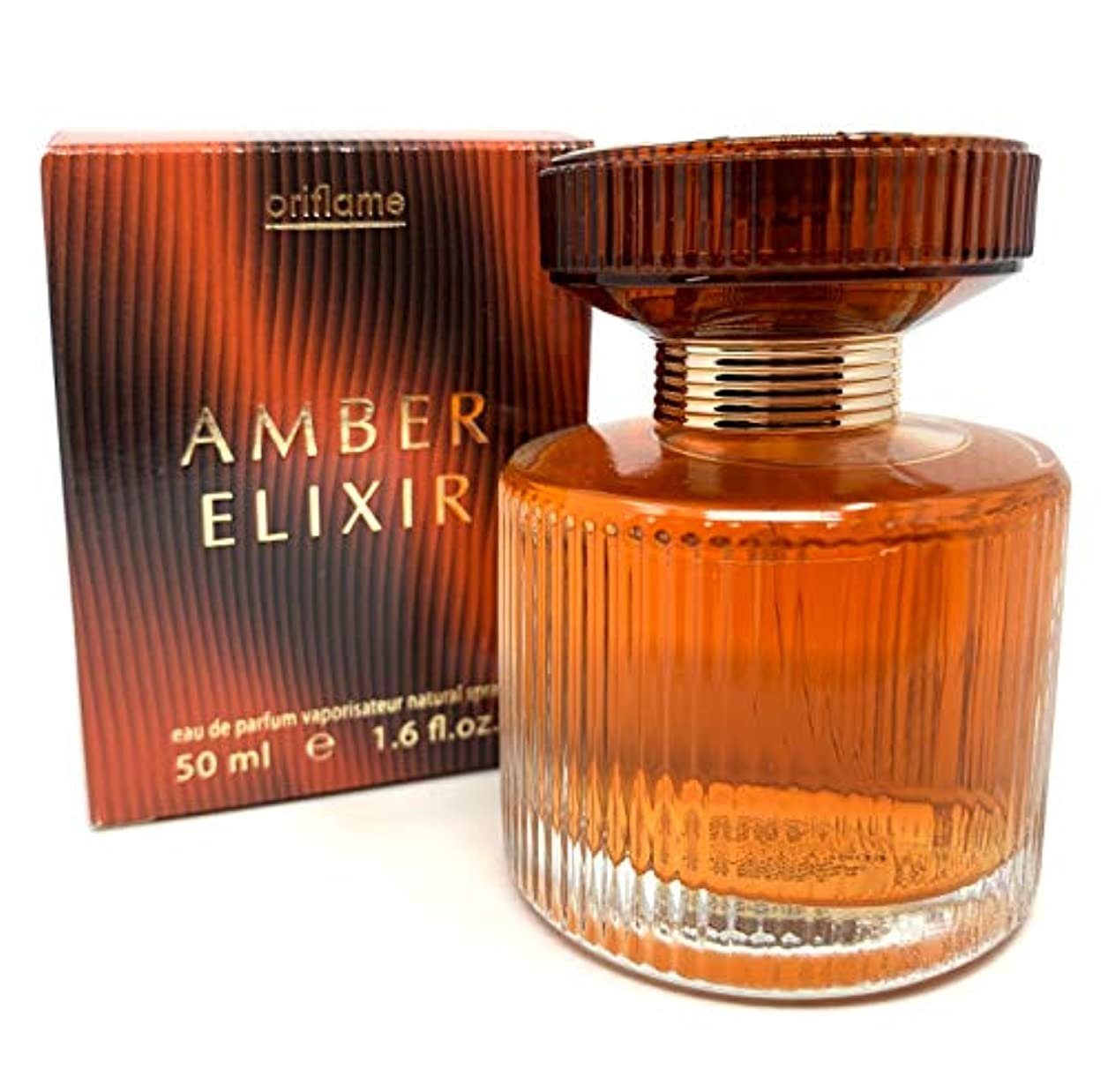 素朴な十分です外出ORIFLAME Amber Elixir Eau De Parfum Natural Spray 50ml - 1.6oz